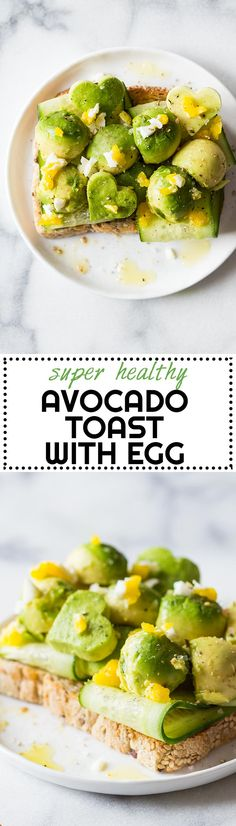 It's so incredibly easy to make this Avocado Toast with Egg you won't believe it! The hardest part is watch the water boil to cook the egg in it!     via @greenhealthycoo
