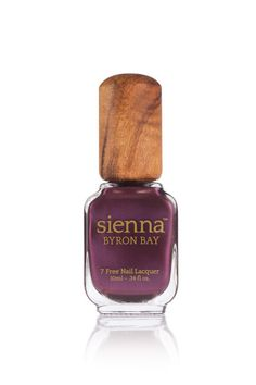 Seeker by Sienna Byron Bay  Deep Amethyst Nail Polish with a Shimmer finish 10ML - .34 FL OZ.