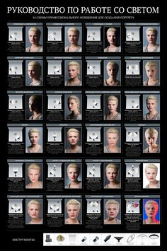 Free Portrait Lighting Guide: 24 Essential Studio Lighting Set-Ups - portrait photography, lighting techniques, how to set up lighting, photography lighting Photography Cheat Sheets, Photography Lessons, Photography Business, Light Photography, Photography Tutorials, Photography Poses, Portrait Photography Lighting, Product Photography Lighting, Creative Photography
