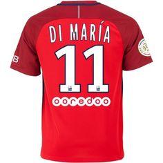 Paris Saint Germain PSG 16-17 Angel di Maria 11 Udebane Trøje Kortærmet.  http://www.fodboldsports.com/paris-saint-germain-psg-16-17-angel-di-maria-11-udebane-troje-kortermet.  #fodboldtrøjer