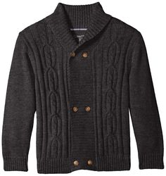 Amazon.com: Nautica Boys' Double Breasted Shawl Collar Cardigan: Clothing