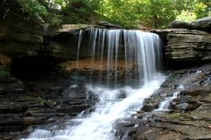 Bella Vista, Arkansas:  Lake Ann Waterfall.  My parents had a vacation home here for a number of years.