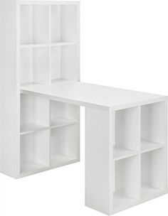 ikea kallax combinaison bureau ce meuble peut servir de s parateur de pi ce car il. Black Bedroom Furniture Sets. Home Design Ideas