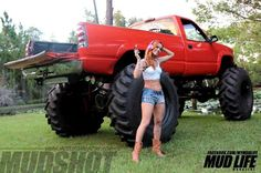 bigfoot and monster trucks girls - Google Search