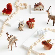 Owl Ornament, Reindeer Ornaments, Baby Ornaments, House Ornaments, Christmas Tree Ornaments, Christmas Decorations, Reindeer Christmas, Holiday Decor, Xmas