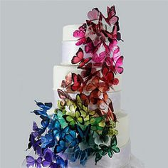 Dancing Butterfly Cake Topper (More Colors) 2016 - $3.99