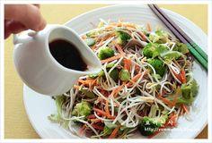 Soba Noodle Soup with Salad Soba – Shellfish Recipes Asian Recipes, Ethnic Recipes, Pike Recipes, Asian Foods, Soba Salad, Cold Soba, Soba Noodles, Shellfish Recipes, Vegetable Salad