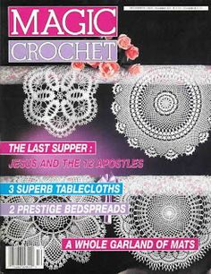 Free Crochet Patterns: Magic Crochet No. 69