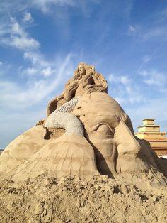 Sand Sculptures Copenhagen, Denmark