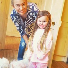 """""""Emilia wanted longer hair so @annasaccone gave her extensions! #sacconejolys"""""""