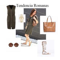 Tendencia: Sandalias Romanas