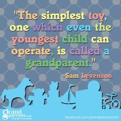 The simplest toy, one which even the youngest child can operate....