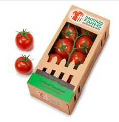 New Fruit Box Labels Packaging Design Ideas Organic Packaging, Fruit Packaging, Food Packaging Design, Box Packaging, Innovative Packaging, Coffee Packaging, Packaging Awards, Brand Packaging, Box Branding