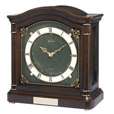 Bulova Wiltshire Chiming Mantel Clock - Overstock™ Shopping - Great Deals on Bulova Clocks