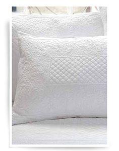 Piu Belle White Ruffle Shabby Chic Bedspread Matelasse