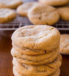 Super soft and chewy brown sugar cookies – no mixer required! Recipe on sallysbakingaddic… FULL RECIPE HERE Soft Cookie Recipe soft cookie. Soft Sugar Cookie Dough Recipe, Sugar Cookie Recipe Allrecipes, Food Network Sugar Cookie Recipe, Martha Stewart Sugar Cookie Recipe, Soft Almond Cookies, Amaretti Cookie Recipe, Sugar Cookie Recipe For Decorating, Soft Sugar Cookie Recipe, Caramel
