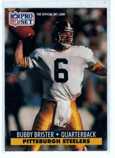 Football Cards 1991 NFL Pro Set Bubby Brister