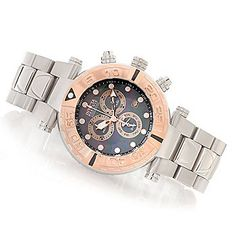 Invicta Reserve 47mm Subaqua Noma I Swiss Made Quartz Chronograph Stainless Steel Bracelet Watch