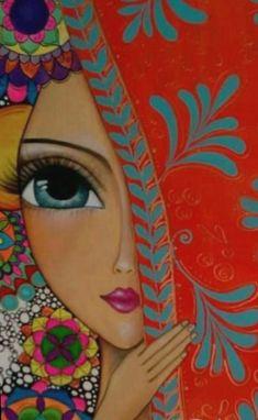 Diy abstract heart painting and a fun paint party – Artofit – BuzzTMZ Art And Illustration, Tableau Pop Art, Rajasthani Art, Afrique Art, Indian Art Paintings, Indian Folk Art, Madhubani Painting, Arte Popular, Whimsical Art