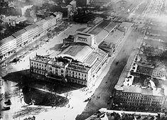 1930 Ein Bahnhof der zum Theater wurde.... Der alte Ostbahnhof am Kuestrinerplatz