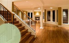 Love the wood stairs/floors, but the open feeling is wonderful.