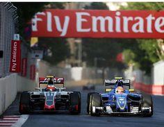 Baku | Europe GP | Esteban Gutierrez | Felipe Nasr