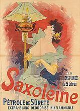 JULES CHÉRET (1836-1932). SAXOLÉINE. 1892. 48x34 inches, 122x86 cm. Chaix, Paris.