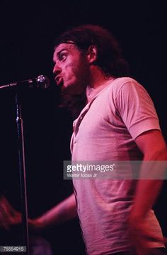 Joe Cocker performs at the Fillmore East Concert on March 28 1970 in New York New York