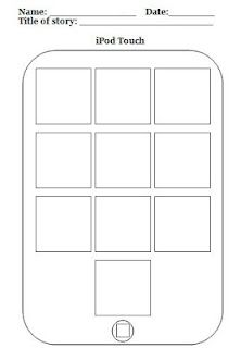 design your own ipod touch with 10 different apps -- sub lesson maybe?