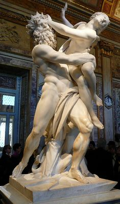 """""""The Rape of Persephone"""" by Bernini @ Borghese Gallery Italy"""