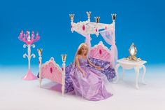 Free Shipping,pink bed dresser table doll bedroom for barbie doll,doll furniture doll accessories for barbie-in Dolls Accessories from Toys & Hobbies on Aliexpress.com   Alibaba Group