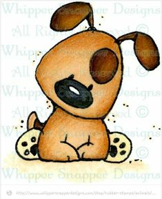 Perky Pup Sitting - Dogs - Animals - Stamp - Shop Source by Rock Crafts, Watercolor Cards, Whimsical Art, Cute Illustration, Dog Art, Belle Photo, Cute Drawings, Doodle Art, Whippet