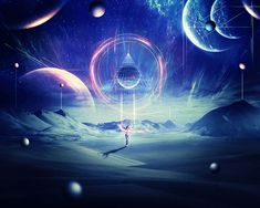 Create an Abstract Sci-Fi Scene with Photoshop - Photoshop Tutorials