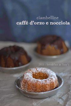 breakfast at lizzy's - ciambelle con caffè d'orzo e nocciole