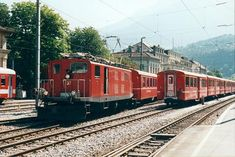 HGe 4/4 I 37 (Foto: Johannes Maischak) Locomotive, Train, Vehicles, Photos, Archive, Photo Illustration, Zug, Rolling Stock, Locs