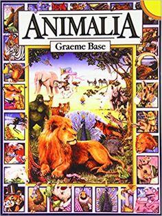 Animalia: Amazon.co.uk: Graeme Base: 9781439554302: Books