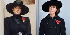 21 vezes em que Kate Middleton e Lady Di se vestiram quase iguais