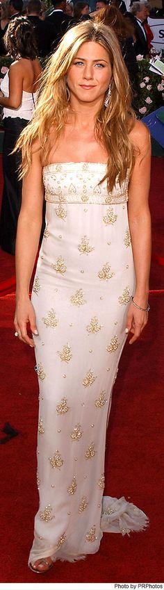 Jennifer Aniston Wearing Chanel Dress at the 2004 Primetime Emmy Awards