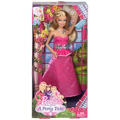Gala Gown Dress Doll based on the Movie Barbie & Her Sisters In A Pony Tale NEW #Mattel