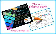 Popular 8 Note Songs Music Patterns to Color Color Patterns, Geometric Patterns, Song One, To Color, Pattern Blocks, Music Notes, Favorite Color, Coloring Books, Something To Do