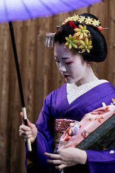 flick.japan.Kyoto.07 | Tomitae la Geisha dans le quartier de… | Marinette Barro | Flickr