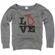 Michigan Hoodies | Michigan Sweatshirts | The Mitten State
