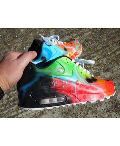 reputable site c0c9b aaf2f Cheap Nike Air Max 90 Candy Melt Custom Galaxy Green Red Black Sale