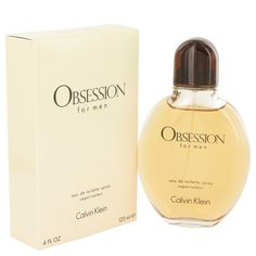 OBSESSION by Calvin Klein Eau De Toilette Spray 4 oz for Men: Launched by the design house of Calvin Klein in OBSESSION is classified as a refreshing, oriental, woody fragrance.This masculine. Perfume Parfum, Perfume Hermes, Perfume Versace, Perfume Zara, Perfume Diesel, Perfume Bottles, Calvin Klein Cologne, Perfume Calvin Klein, Fragrance
