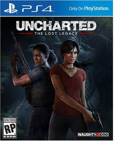 The cover of Uncharted Lost Legacy #Uncharted #PS4 #Uncharted4 #TheLastOfUs #NathanDrake #PS4share #playstation #gaming #games