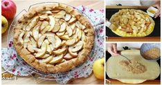 Schnell & einfach: Saftig-knusprige APFELTARTE Austrian Recipes, Apple Pie, Desserts, Videos, Food, Pie, Apple, Dessert Ideas, Kuchen