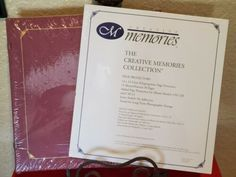 with Page Protectors Fast to Fab NIP Creative Memories 12x12 album It/'s A Girl