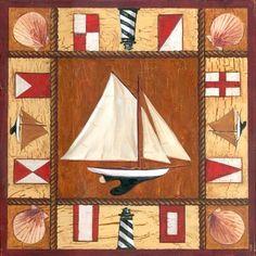 Sailboat by Geoff Allen | Ruth Levison Design