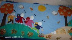Bogyó és Babóca és barátai falvédő/175x75cm - 16500 Ft