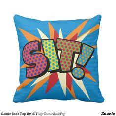 Comic Book Pop Art SIT!
